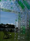 Green Green House (Interior) by Jane Burt, Sculpture, Plastic Bottles