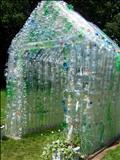 Green Green House (entrance) by Jane Burt, Sculpture, Plastic Bottles