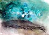 Moon light by Jane Burt, Painting