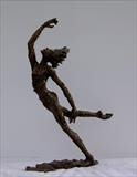 Spirit Dancer of the Vines. by Jane Burt, Sculpture, Bronze