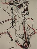 wild woman by Jane Burt, Drawing